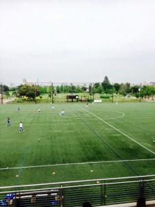 東京都社会人サッカーリーグ「スペリオ城北」の試合観戦 ボールを蹴る音が違う|行政書士阿部総合事務所