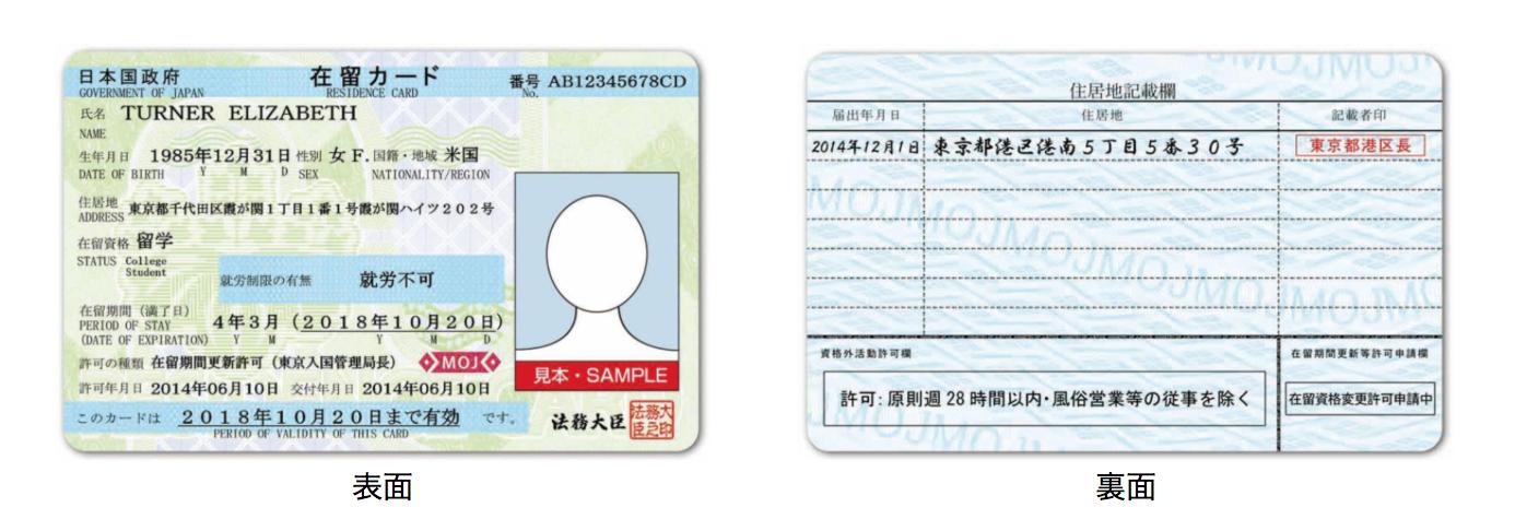 外国人を雇用するときには、目の前の外国人と在留カードの写真の本人が一致するかをチェック!|行政書士阿部総合事務所