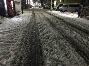 大雪の翌日の東京、営業効率を最大化するには装備も大切!、シャアと対峙する側の気持ちがわかった瞬間|行政書士阿部総合事務所