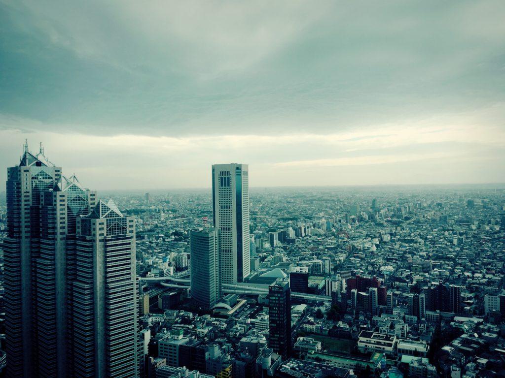 東京都庁展望室で|行政書士阿部総合事務所