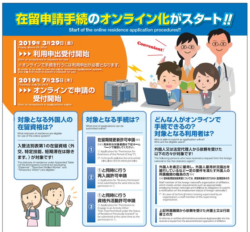待望のオンラインでのビザ申請がスタート。意外に使えない?!|行政書士阿部総合事務所